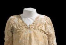 Най-старата рокля е на 5 х. години