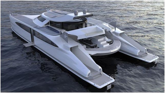 Tesla Cybertruck - яхта с пикап