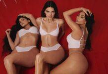 Ким Кардашиян, Кендъл и Кайли Дженър в нова гореща кампания