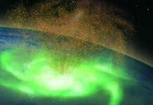 Електромагнитното торнадо се е въртало близо 8 часа над Северния полюс