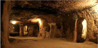 Подземия - обител на древните атланти