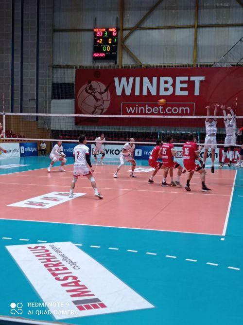 Бургазлии взеха чиста победа с 3:0