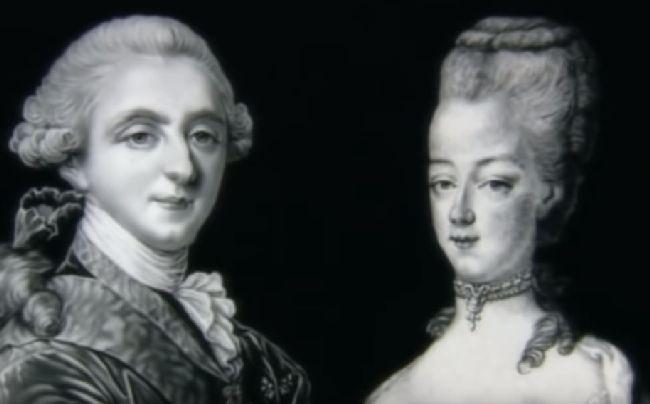 Мария Антоанета с краля